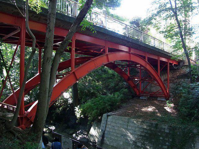 等々力渓谷 ゴルフ橋
