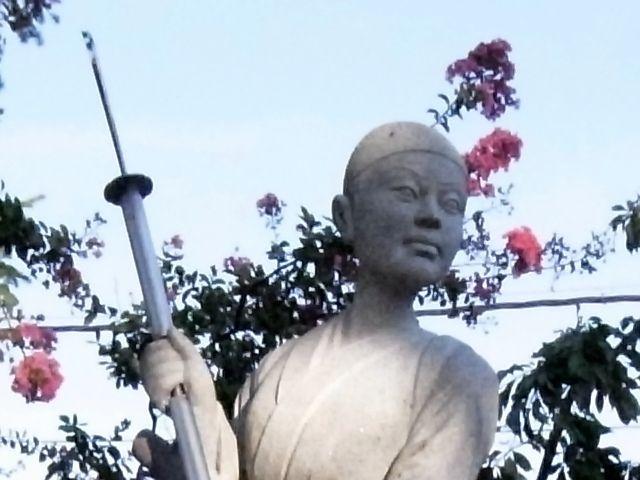 中野竹子女史殉折地