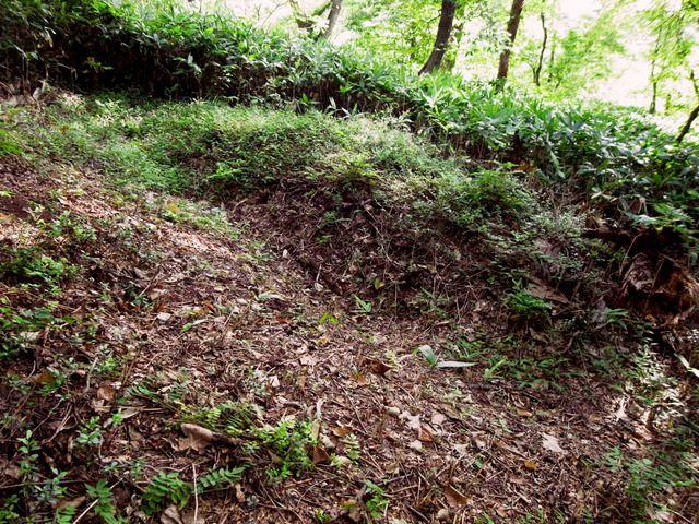 白虎隊が戦う直前までいた姥山塹壕跡
