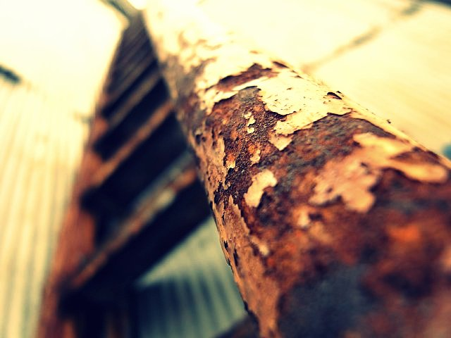 東洋シャーリング工業の階段の手すり