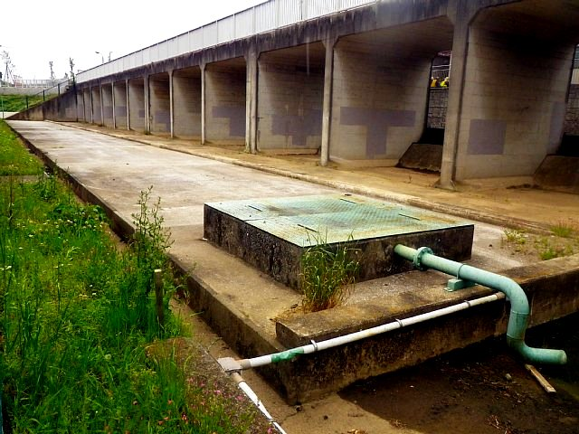 比丘尼橋上流調整池