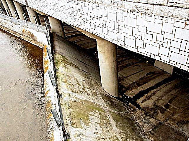 比丘尼橋下流調整池