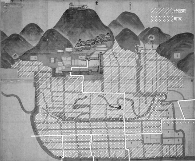 日本古城絵図-鳥取