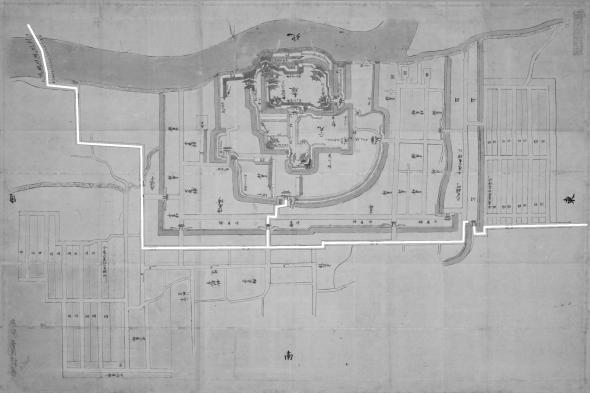 日本古城絵図-吉田城