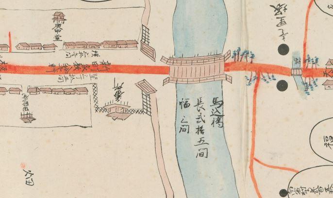 浜松御城下絵図 (部分)