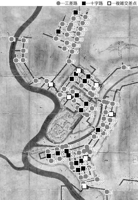 図 3.4.1.4: 盛岡城