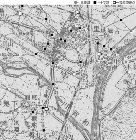 図 3.4.1.6: 黒沢尻町(現・岩手県北上市)