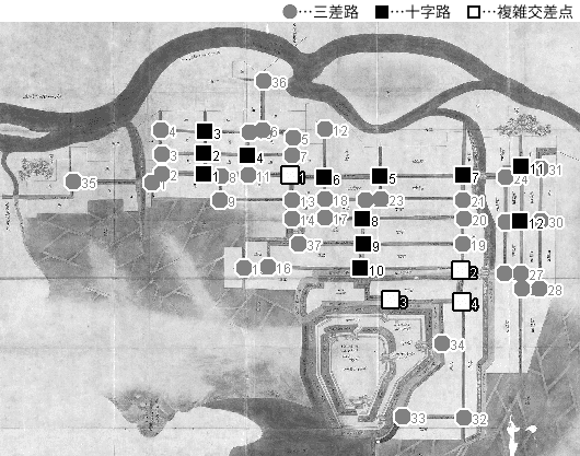 図 3.4.1.7: 出羽本庄城