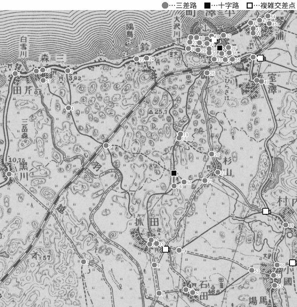 図 3.4.1.8: 平澤町(現・秋田県にかほ市)