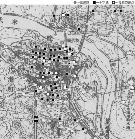 図 3.4.1.11: 能代町(現・秋田県能代市)