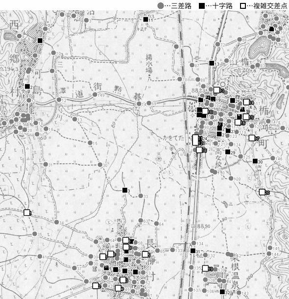 図 3.4.1.15: 楯岡町(現・山形県村山市)