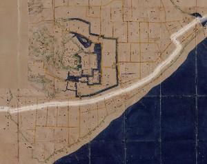 図 3.4.2.7: 小田原城下主街道の屈曲