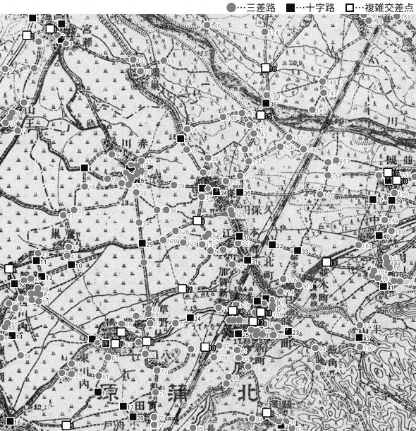 図 3.4.3.5: 中條町(現・新潟県胎内市)