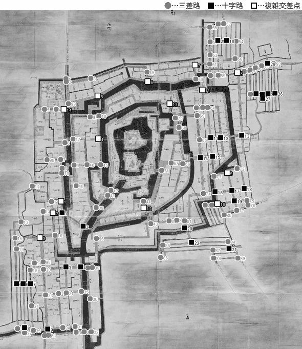 図 3.4.3.10: 大垣城