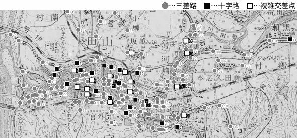 図 3.4.4.6: 宇治山田(現・三重県伊勢市)