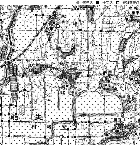 図 3.4.4.8: 安堵村(現・奈良県安堵町)