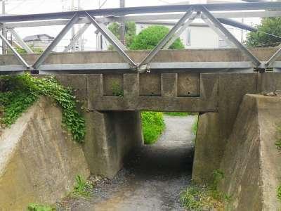 JR川越線のトンネル