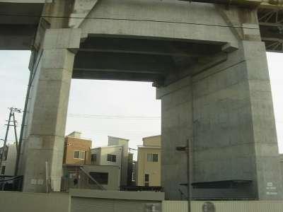 山陽新幹線 橋脚