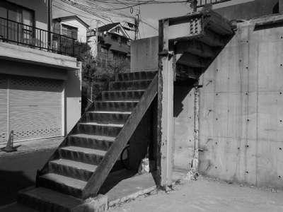 無用階段(板橋区にて)
