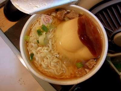 台湾で流行ってるらしいプリンヌードル食べてみた。