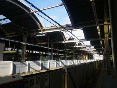 高島平駅ホーム