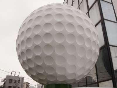 ゴルフ用品店ディスプレイ