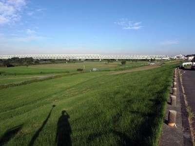常磐線と利根川