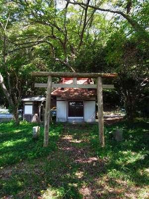 手賀沼の小さな神社