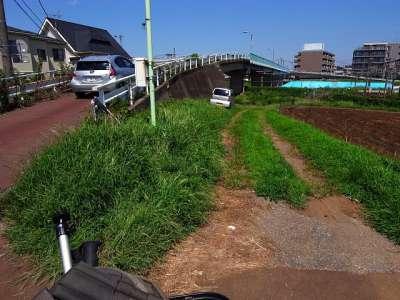北柏の常磐線跨線橋(柏市)