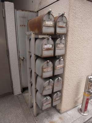 日本橋郵便局の近くで