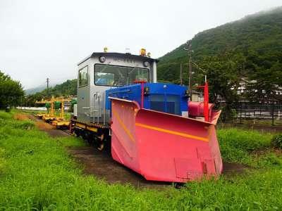 竹田駅(兵庫) 除雪車