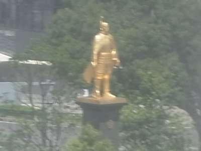 岐阜駅前 信長像