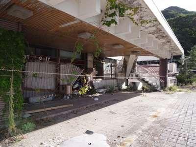 廃墟ホテル(群馬県みなかみi町)