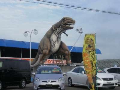 恐竜オブジェ (福島県会津若松)