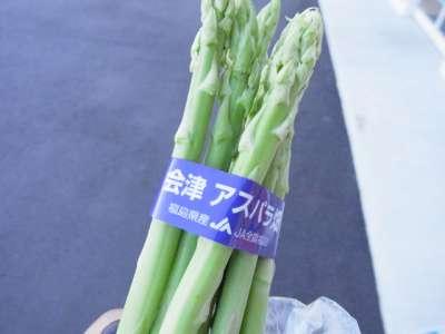 会津アスパラ (福島県会津若松)
