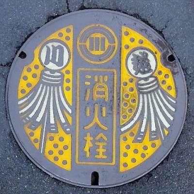 マンホール蓋 at 川越市