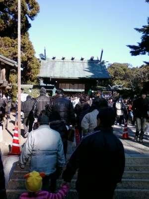 初詣 宮崎神宮