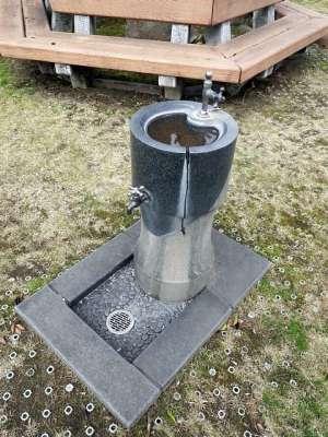 人吉市の公園の水飲み場
