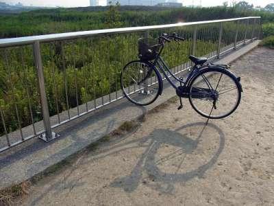新砂とマイ自転車