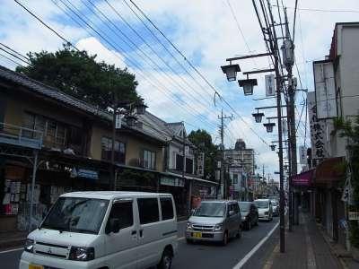 川越市 蔵造りの街並みの少し外