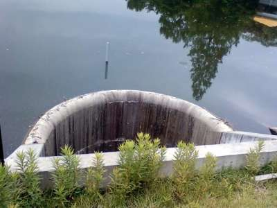 八丁湖 ダム穴