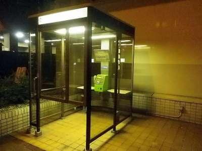 岡山市の電話ボックス