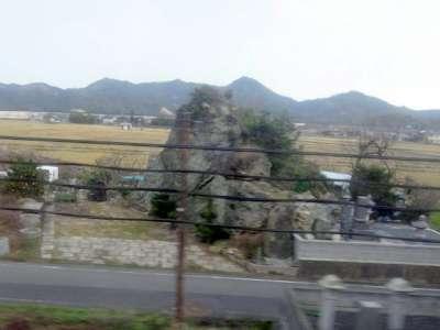 大岩駅を過ぎたあたり