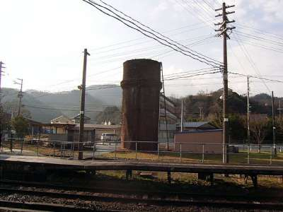 JR浜坂駅 給水塔