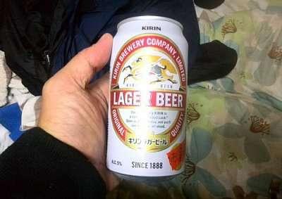 帰宅ビール