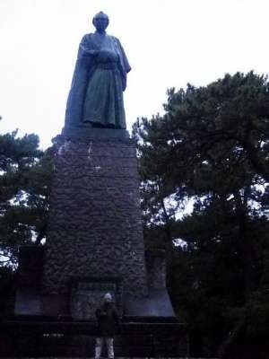 坂本龍馬像(桂浜)