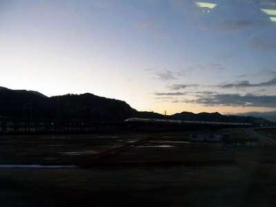 米原あたり