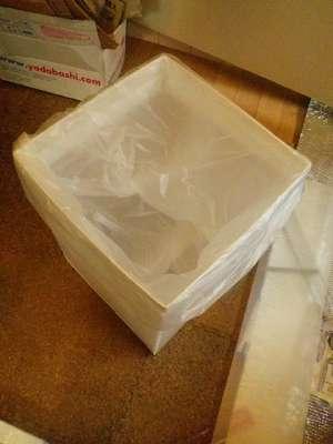 自作ゴミ箱