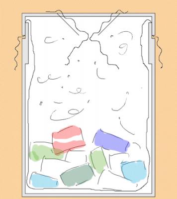 自作ゴミ箱 コバエ対策