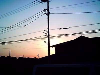 朝焼け 2008-01-22